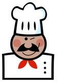 Guiño del cocinero negro ilustración del vector