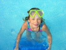 Guiño del nadador Foto de archivo libre de regalías