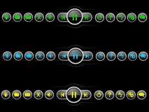 GUI按钮集合 库存例证