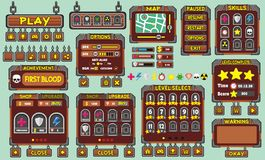 Gui 49 παιχνιδιών Στοκ Εικόνα