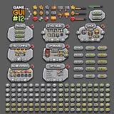 Gui 12 игры иллюстрация штока