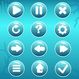 GUI Asset de botones náuticos libre illustration