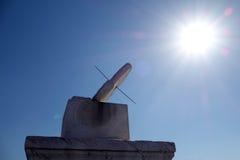 GUI de Ri (cadran solaire) dans le Cité interdite (gong de GU) Image libre de droits