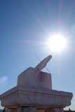 GUI de Ri (reloj de sol) en la ciudad Prohibida (gongo de Gu) Foto de archivo
