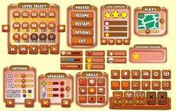 GUI 22 del gioco Immagini Stock