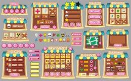 GUI 59 del juego Fotografía de archivo libre de regalías