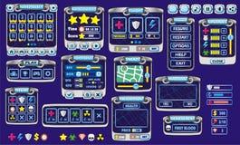 GUI 41 do jogo ilustração stock
