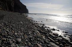 Gui-Gui Chico beach. Special Natural Reserve of Gui-Gui. Aldea de San Nicolas de Tolentino. Gran Canaria. Canary Islands. Spain royalty free stock photography