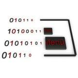 GUI-Programmierung Lizenzfreies Stockfoto