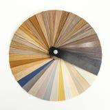 Guia de madeira decorativo da paleta Design de interiores Imagem de Stock