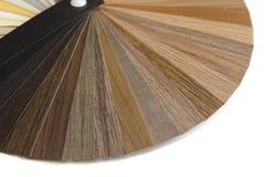 Guia de madeira decorativo da paleta Design de interiores Fotos de Stock Royalty Free