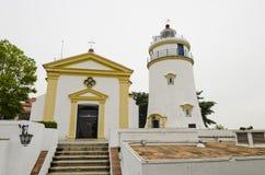 Guia fästning, Macao Royaltyfri Fotografi