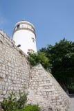 Guia Lighthouse, forteresse et chapelle dans Macao Image libre de droits