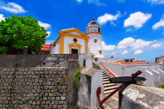 Guia Lighthouse, Fortress and Chapel Stock Photos