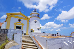 Guia Lighthouse Royalty Free Stock Photography