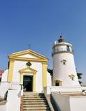 Guia lighthouse at Macau Stock Photography