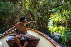 Guia maia Fotografia de Stock