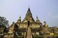 Guia para o si Ayutthaya de Phra Nakhon Fotos de Stock