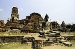Guia para o si Ayutthaya de Phra Nakhon Fotografia de Stock Royalty Free