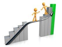 Guia para o sucesso Fotografia de Stock
