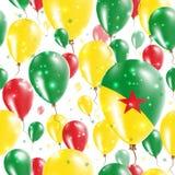 Guiana dnia niepodległości Bezszwowy wzór Fotografia Stock