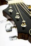 Guiar Headstock - Music Instrument stock photos