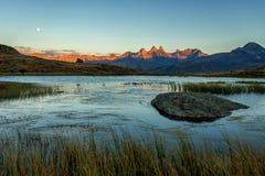 Guichard lake Fotografering för Bildbyråer