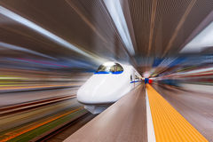 Guida ad alta velocità cinese Fotografia Stock Libera da Diritti