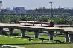Guida ad alta velocità del ¼ del ï del sottopassaggio della Cina Pechino Immagine Stock Libera da Diritti