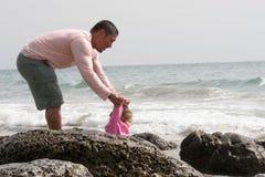 Guida dal Daddy Fotografia Stock