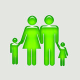 Guida del genitore Immagini Stock Libere da Diritti