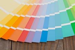 Guida del grafico a colori Fotografia Stock