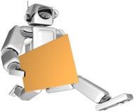 Guida del robot Fotografie Stock