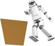 Guida del robot Fotografia Stock Libera da Diritti
