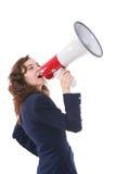 Guida della donna Immagine Stock Libera da Diritti