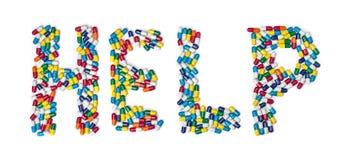 Guida della pillola Fotografie Stock