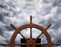 Guida della tempesta Fotografia Stock