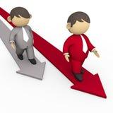 Guida di affari Immagine Stock Libera da Diritti