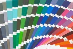 Guida di colore Fotografia Stock Libera da Diritti