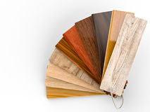 Guida di legno di colore Immagini Stock Libere da Diritti