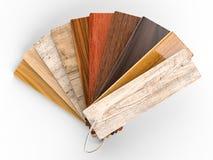 Guida di legno di colore Fotografia Stock