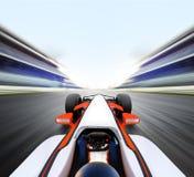 Guida di veicoli sulla corsia veloce immagine stock libera da diritti