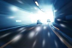 Guida di veicoli vaga artistica del tunnel Fotografie Stock Libere da Diritti