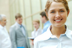 Guida femminile Immagine Stock Libera da Diritti
