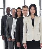 Guida femminile sicura di affari immagine stock