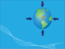 Guida globale Fotografia Stock Libera da Diritti