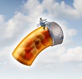 Guida medica di prescrizione Fotografia Stock Libera da Diritti