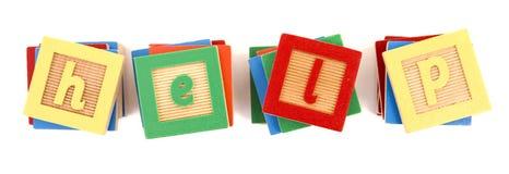 GUIDA ortografata con i blocchi Fotografia Stock Libera da Diritti