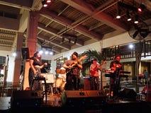 Guidance Band Jams on stage at Mai Tai Bar Stock Photo