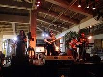 Guidance Band Jams on stage at Mai Tai Bar Royalty Free Stock Image